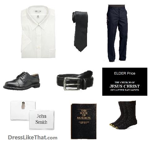 book of mormon - elder price costume ideas