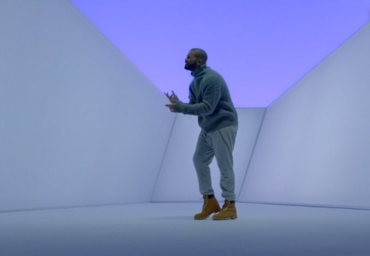 drake - hotline bling - turtleneck costume