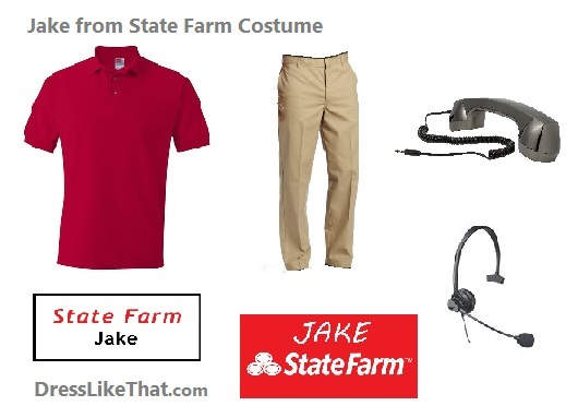 jake from state farm costume ideas
