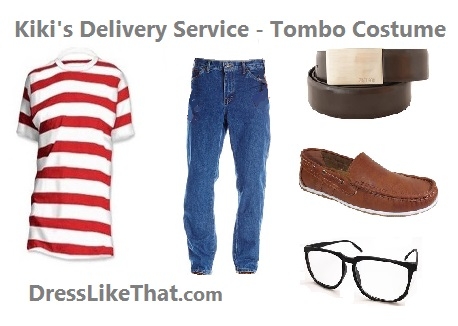 kikis delivery service - tombo costume ideas