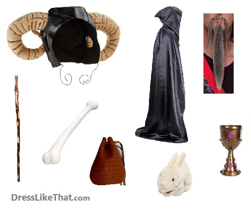 monty python and the Holy Grail - Tim the enchanter costume ideas