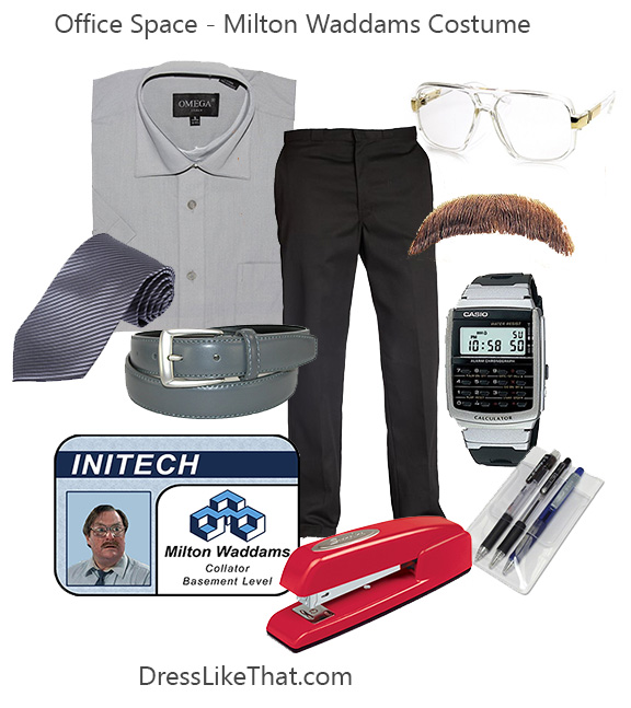 office space - milton waddams costume ideas