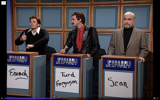 SNL – Jeopardy – Sean Connery Costume