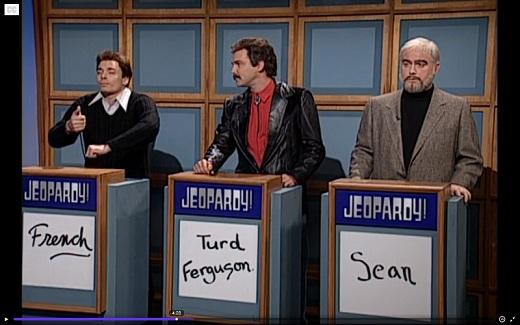 snl - jeopardy - sean connery costum