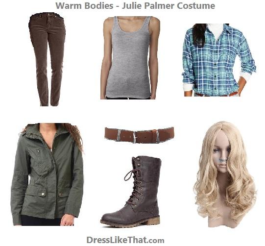 warm bodies - julie palmer costume ideas