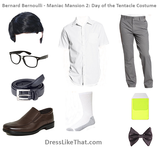 bernard bernoulli - manaic mansion -day of the tentacle costume 2