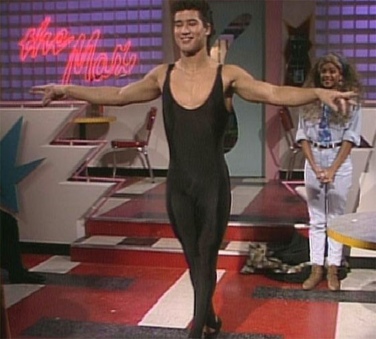 ac slater - ballet - saved by the bell costume