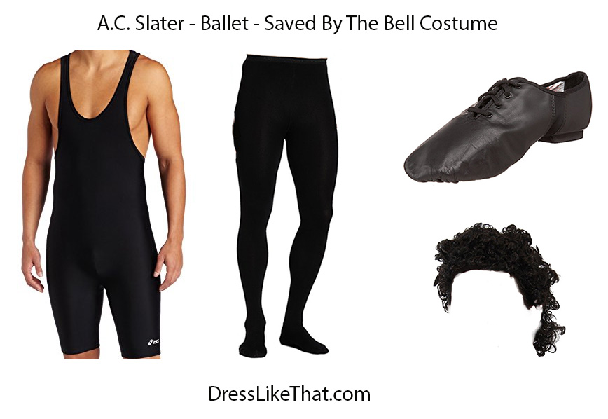 ac slater - ballet - saved by the bell costume 02