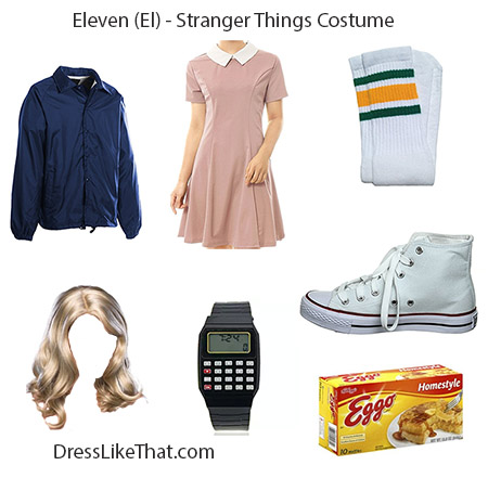 eleven - stranger things costume 03