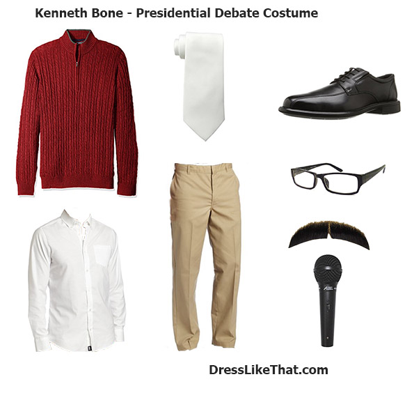 kenneth bone - presidential debate costume 02