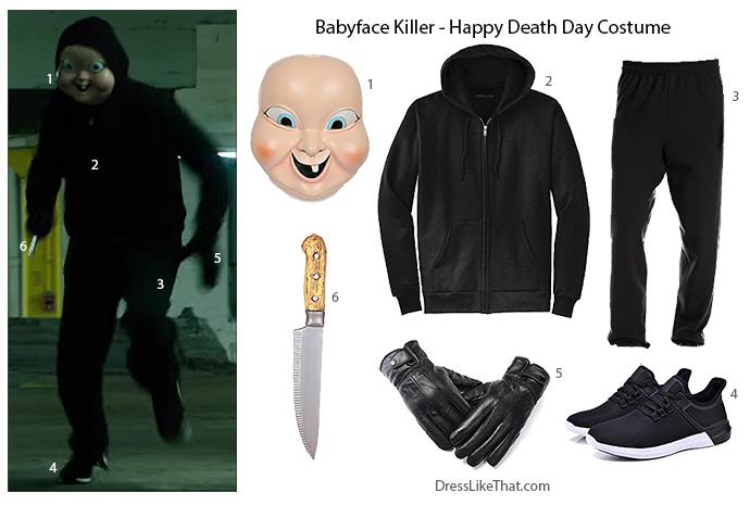 Babyface Killer - Happy Death Day Costume - Dress Like That