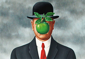 René Magritte – The Son of Man Costume