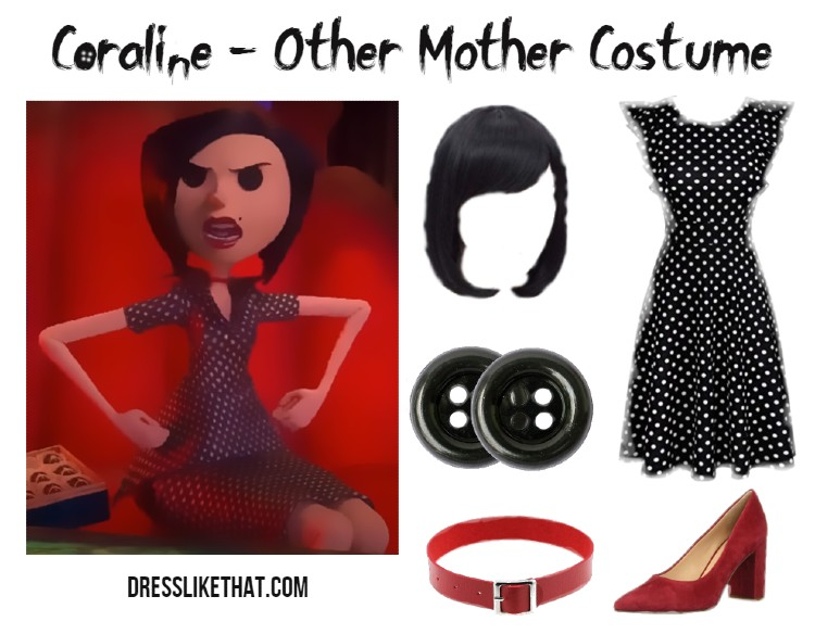 coraline - other mother costume