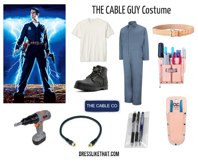 the cable guy costume